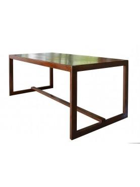 Minimalist steel table