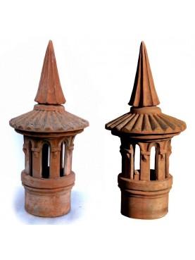 Chimney pot Øint.13cms from Siena small size
