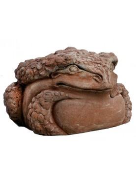 Frog in terracotta