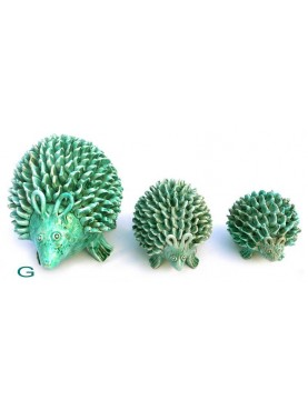 Majolica Hedgehog G big size
