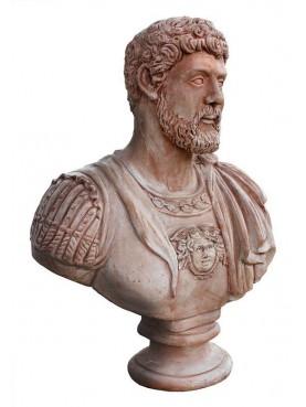Hadrian terracotta bust