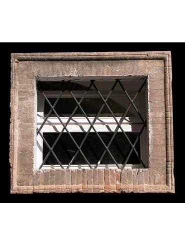 Esempio di finestra realizzata con i mattoni