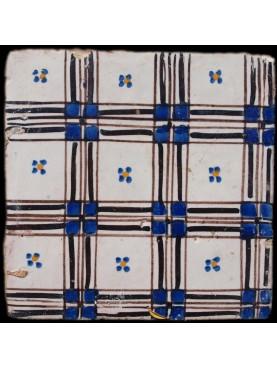 Italian ancient majolica tiles