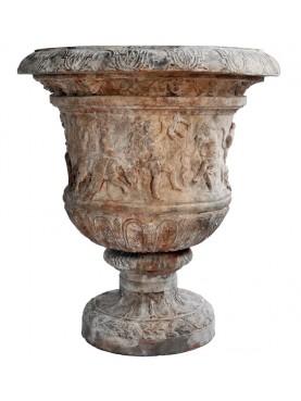 Vaso antico romano del Baccanale (collezione del Louvre) riproduzione 1:1
