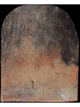 Lastra in terracotta per camino