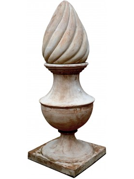 Great torch vase H.160cms