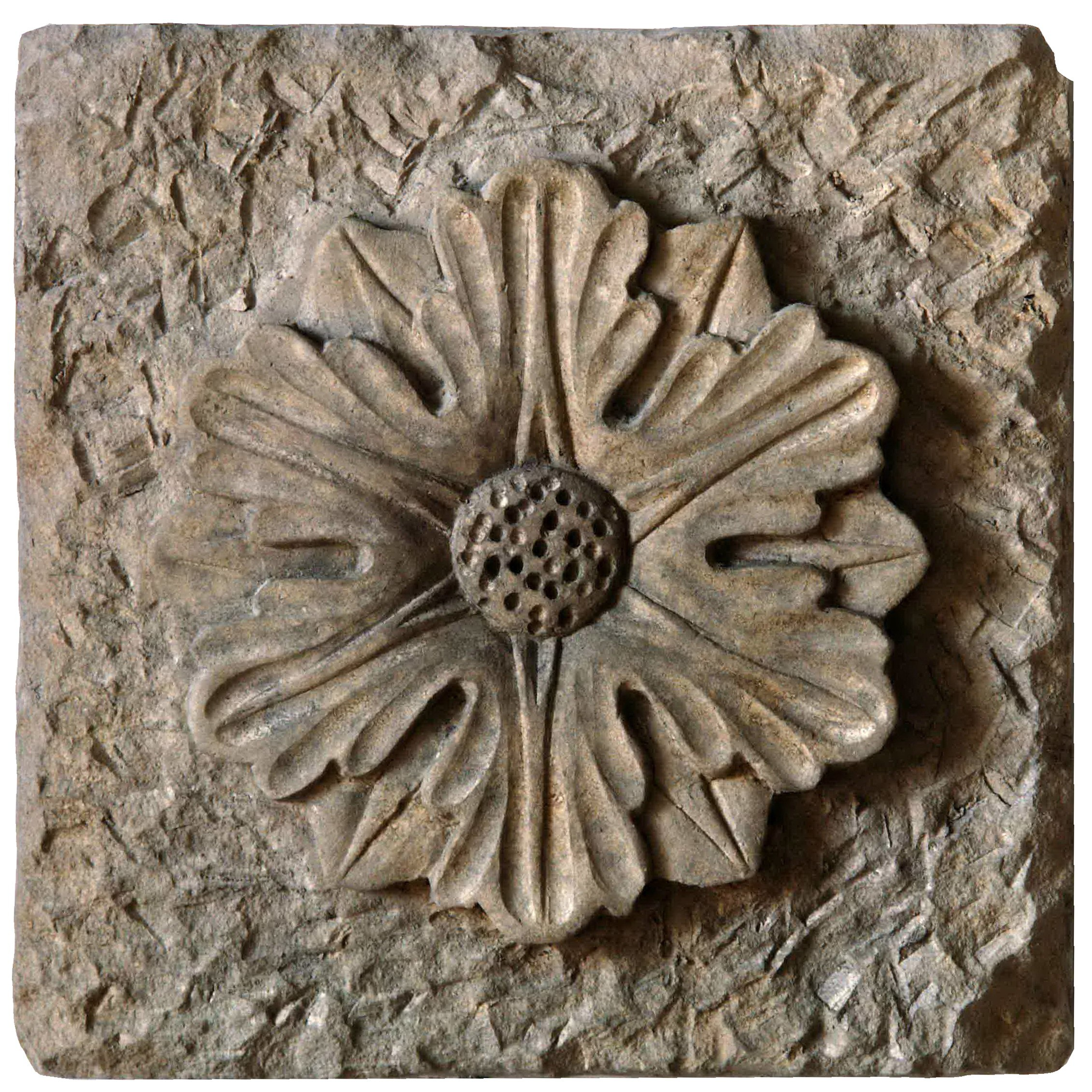 Formelle flowers rosettes and friezes recuperando