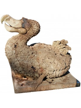 Dodo (Raphus cucullatus) extint bird