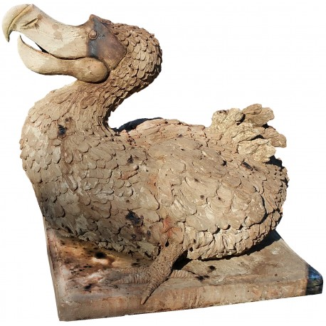 Scultura inTerracotta del Dodo