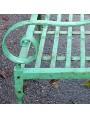 English hand forged armchair wroughtiron
