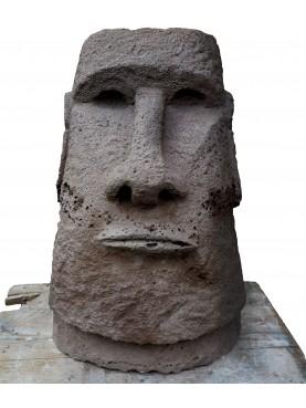 Moai front view