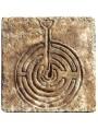 Labyrinth of San Vitale Ravenna - our PATINATED copy