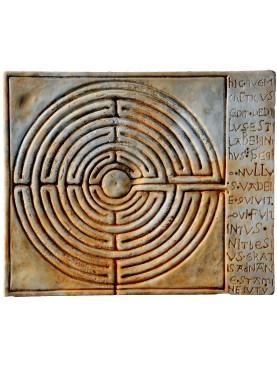 Riproduzione Labirinto della Chiesa di San Martino