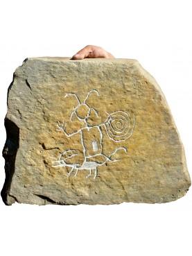 Petroglifo Graffito della Cultura Chaco del New Mexico