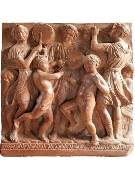 Cantoria di Luca Della Robbia riproduzione in terracotta