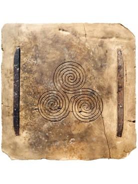 Labirinto a tripla spirale - TRISCELE