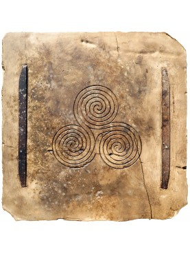 Newgrange Triskelion (Ireland) our reproduction