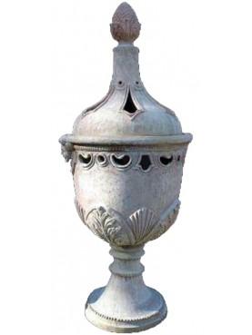 Braciere Mediceo toscano - grande in terracotta
