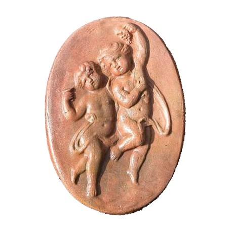 Terracotta basrelief from Andrea della Robbia