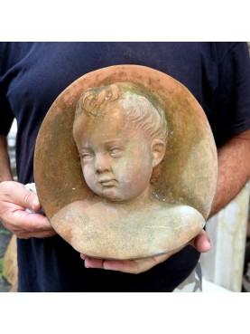 Ovale con fanciullo di Andrea Della Robbia