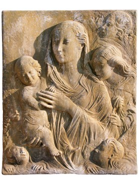 Madonna del Carmine our production in terracotta