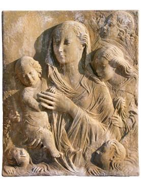Madonna del Carmine - Agostino di Duccio - terracotta - reproduction