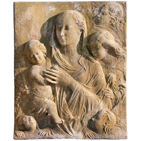 Madonna del Carmine our production in terracotta
