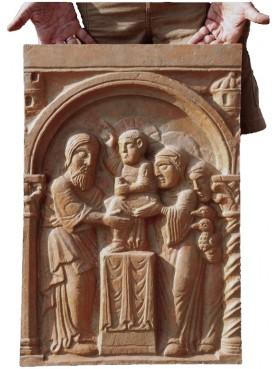 Formella del Duomo di Ferrara del maestro dei mesi