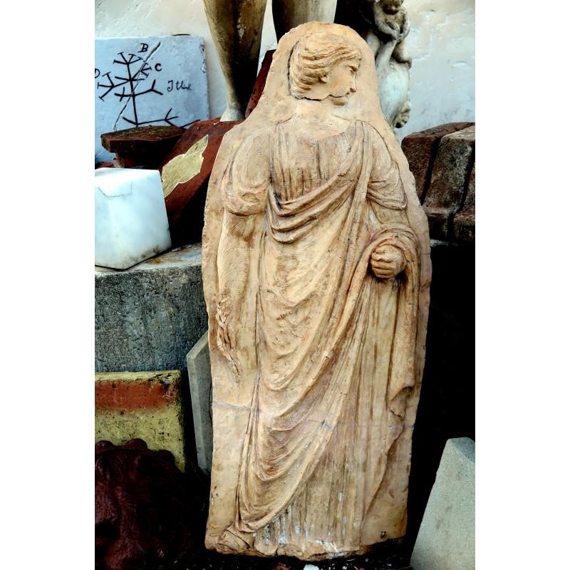 Terracotta bas-relief original ancient from Manifattura di Signa ...