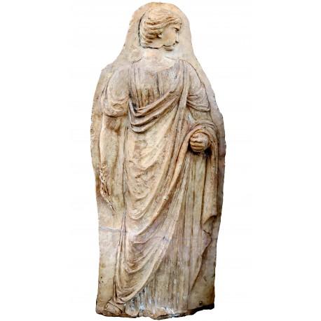 Terracotta bas-relief original ancient from Manifattura di Signa