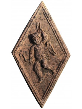Terracotta bas-relief