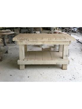 Sculptor desk havy duty H.70cms/100x50cms