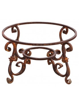 Base per tavolo in ferro battuto rotondo Ø 87 cm