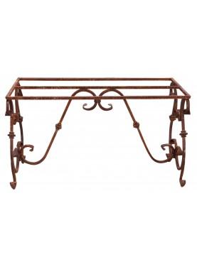 Base per tavolo di ferro battuto 130 cm