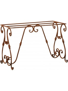 Wrought iron table base 110 cm