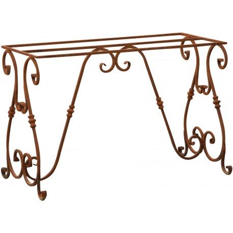 Base per tavolo di ferro battuto 110 cm