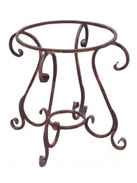 Base per tavolo in ferro battuto rotondo Ø 65 cm