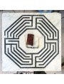 Fine del quinto giorno, Labirinto levigato ed anticato