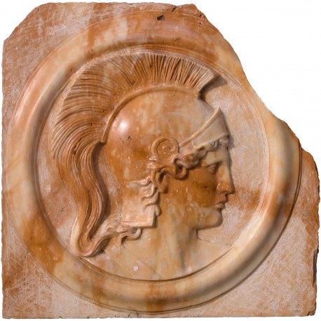 Bassorilievo in Giallo Siena di Atena