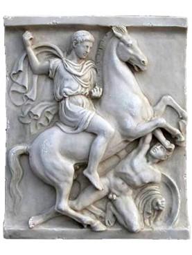 IL CAVALIERE di Dexileos - marmo bianco di Carrara