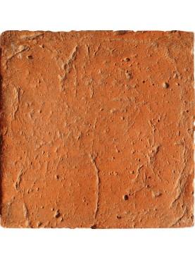 Cotto 20 x 20 cm rosso levigato