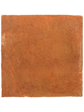 Terracotta 20 x 20 cm red