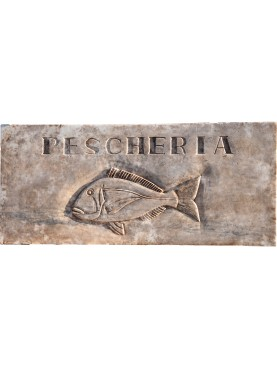 FISH SHOP insignia bream fish