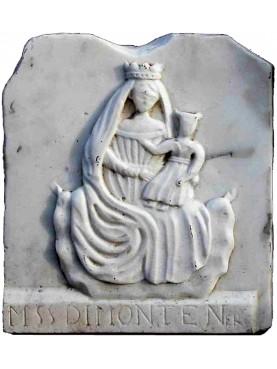 Madonna di Monte Nero - marmo bianco nostra produzione