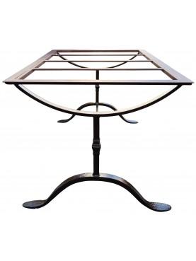 Base per tavolo in ferro battuto