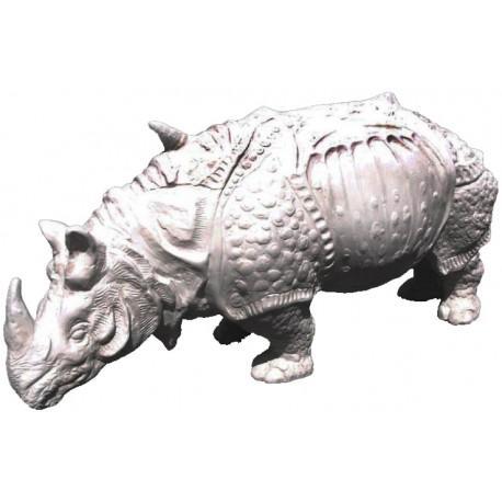 Rinoceronte del Durer nostra riproduzione in gesso