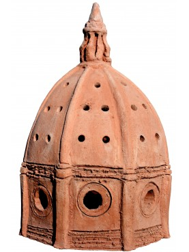 Piccola lanterna a forma di Cupolone terracotta