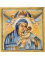 Pannello votivo Madonna delle Grazie