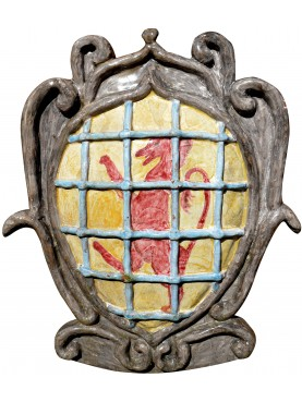 Medici majolica coat of arms