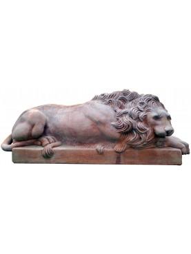 Canova terracotta lions